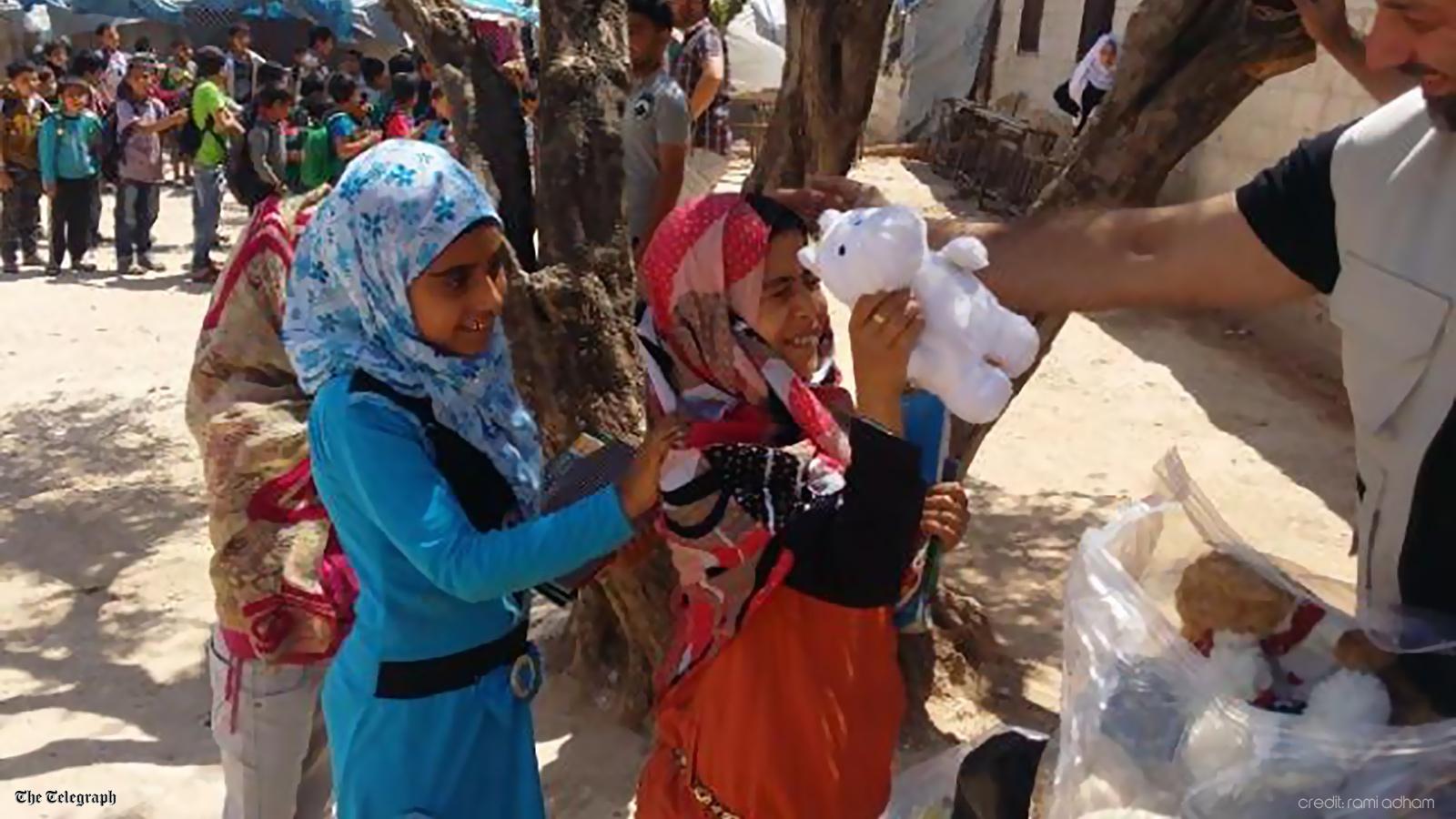 اطفال حلب - ديلي تلغراف