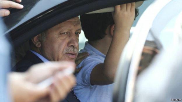اردوغان (رويترز)