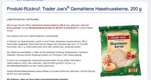 """سلسلة متاجر """"الدي"""" في ألمانيا تطلب إعادة أحد المنتجات التي تبيعها لاحتوائه على جرثومة"""