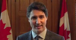"""بالفيديو: رئيس وزراء كندا: """"اللاجئون السوريون بمجرد وصولهم مطارات كندا يصبحون كنديون جدد"""""""