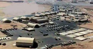 خبراء أمريكيون تمكنوا من الانتهاء من تجهيز مطار عسكري في قرية أبوحجر شرق رميلان