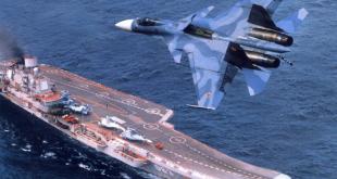 """الطراد الحامل للطائرات """"الأميرال كوزنيتسوف"""" يبدأ المشاركة في العملية العسكرية في سوريا"""