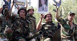 """وزير الدفاع بنظام الأسد، فهد الفريج"""": """"هؤلاء أبناء مؤسستك العسكرية، هل تعلم مصيرهم؟""""."""