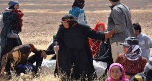 """""""قسد"""" تنقل أهالي قرى شمال الرقة إلى مخيمات"""