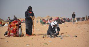 مفوضية الأمم المتحدة لشؤون اللاجئين تزور معبر رجم صليبي المحاصر من قبل PYD