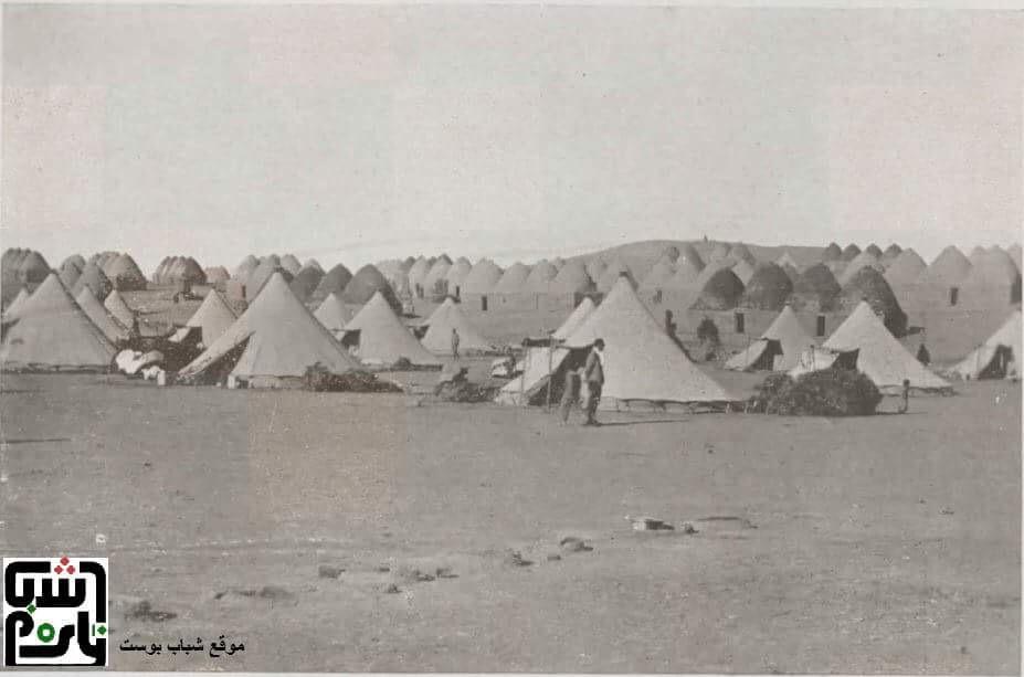 اقدم صورة لتل تمر سنة 1934 (تنشر لأول مرة)
