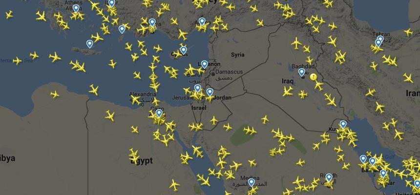 تحذيرات لشركات الطيران المدني بالابتعاد عن سماء البحر المتوسط خوفاً من توجيه ضربة للأسد خلال 72 ساعة